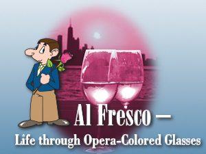 Petite Opera Productions revival Al Fresco - Life Through Opera-Colored Glasses