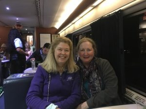 Petite Opera Productions Board Members Susan Baushke and Cathy Dunn